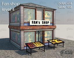 3d model VR / AR ready Fan Shop