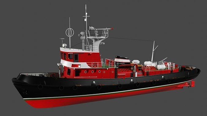 Strazak -3 fire-fighting ship