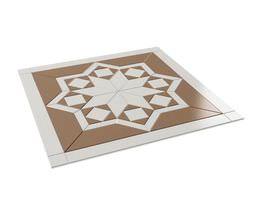 3D model Brown And White Architecture Ornament