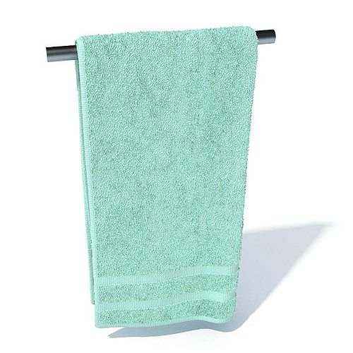bathroom hand towel 3d model - Bathroom Hand Towels