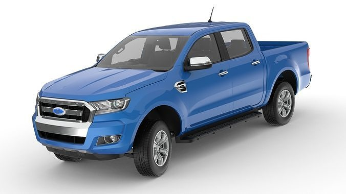 2018 Ford Ranger Double Cab  XLT right-hand drive