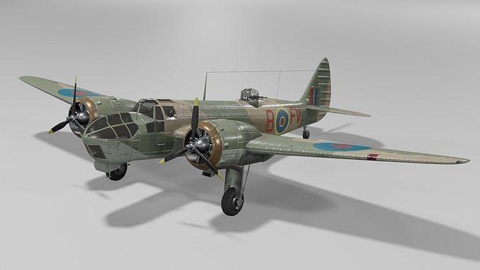 Bristol Blenheim MK IV Light bomber