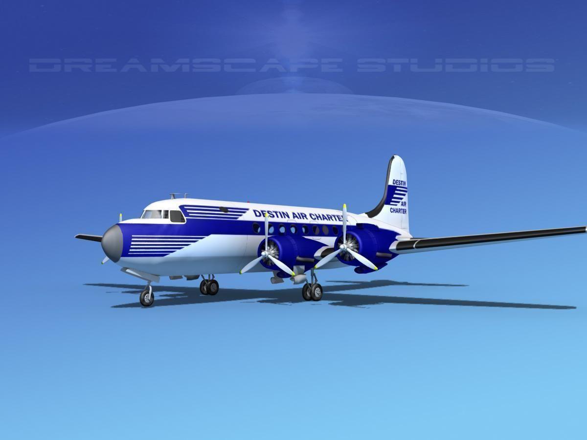 Douglas DC-4 Destin Air