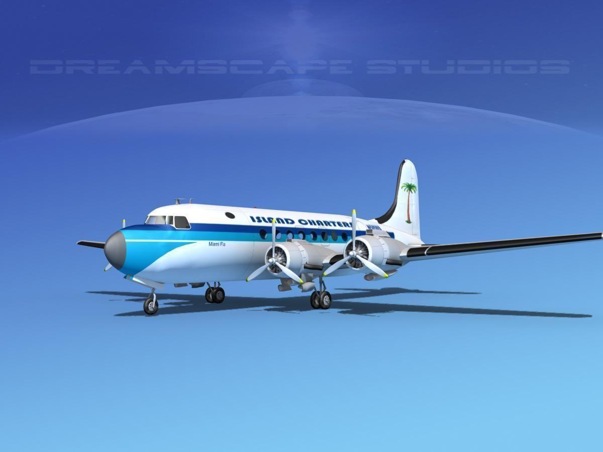 Douglas DC-4 Island Charters