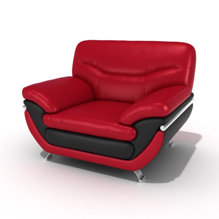 red leather lounge chair 3d model 1 chatwin lounge chair lounge