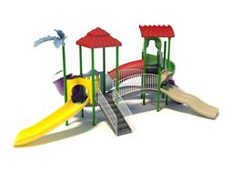 3d model multicolored children playground