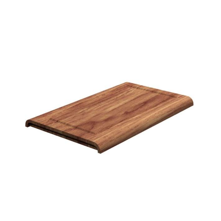 Oak Wooden Cutting Board 3D