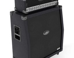 3D Peavey Audio Guitar Amplifier