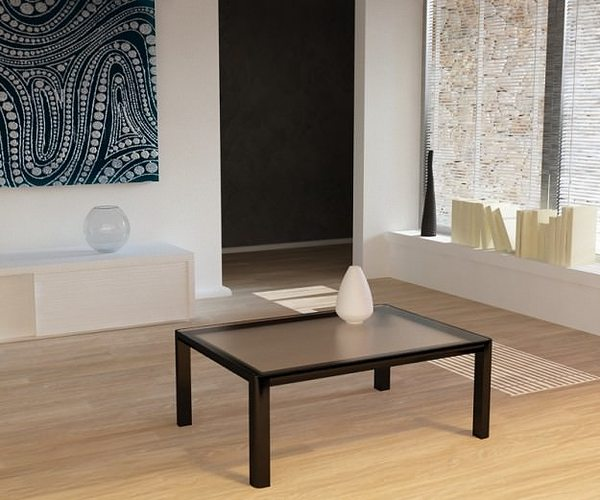Living Room Scene Vray 3D