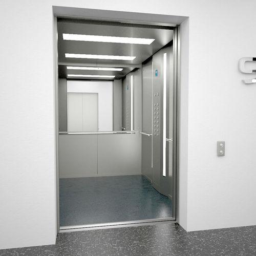 Elevator Otis 3d Asset Cgtrader
