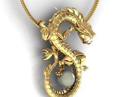 3D printable model Dragon jewelry