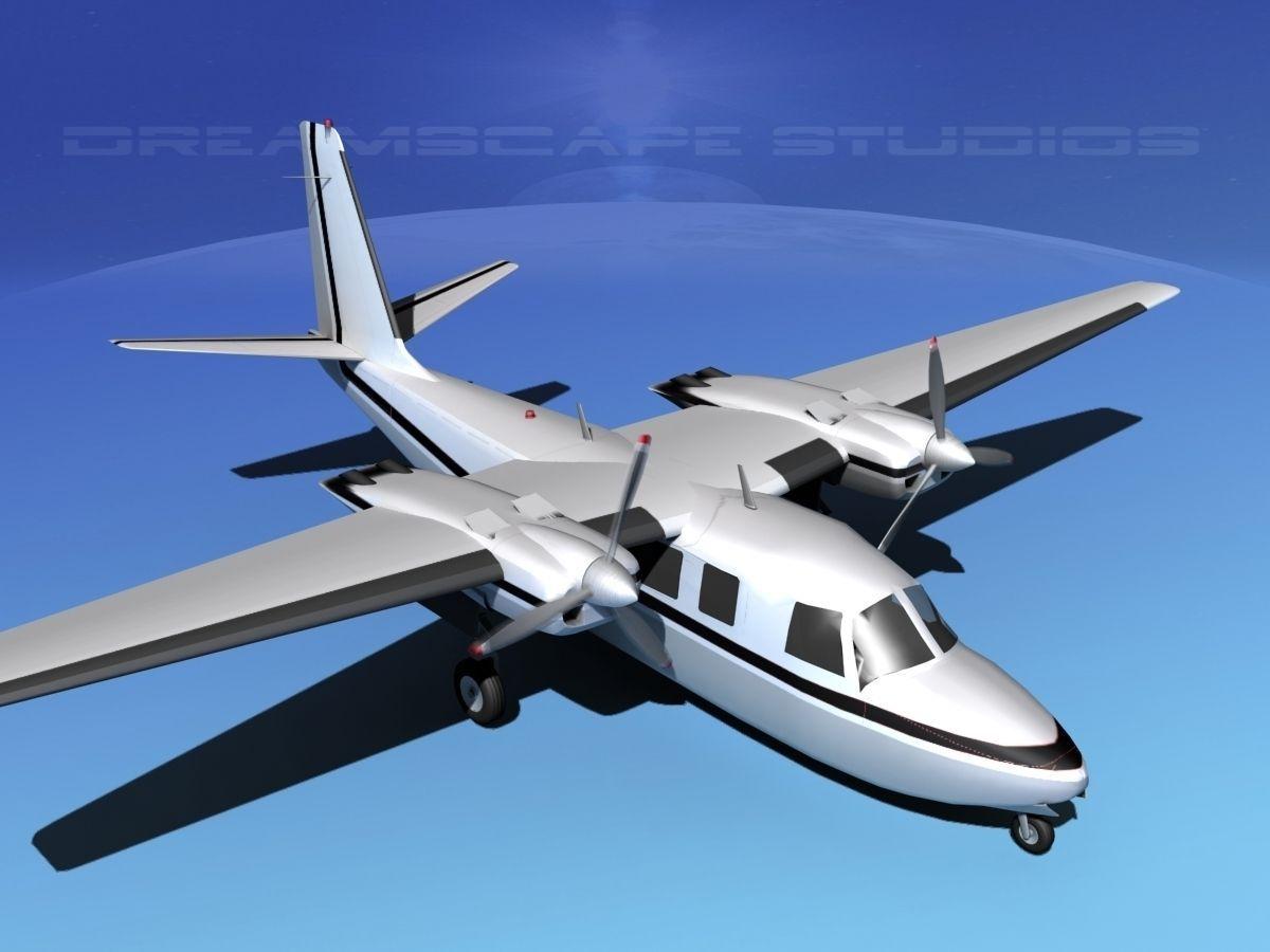 Rockwell Aero Commander 560 V04