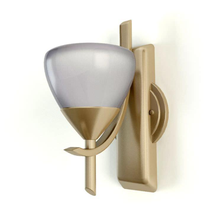 Wall Lamps 3d Model : Classic Wall Lamp 3D Model OBJ CGTrader.com