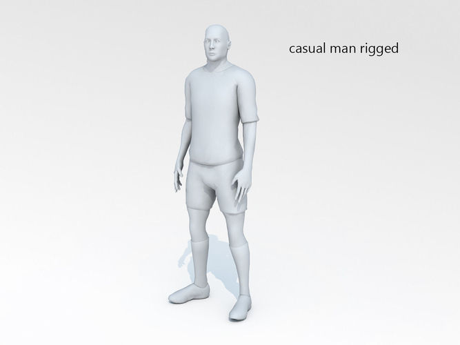 casual man 04 rigged 3d model rigged max obj mtl fbx 1