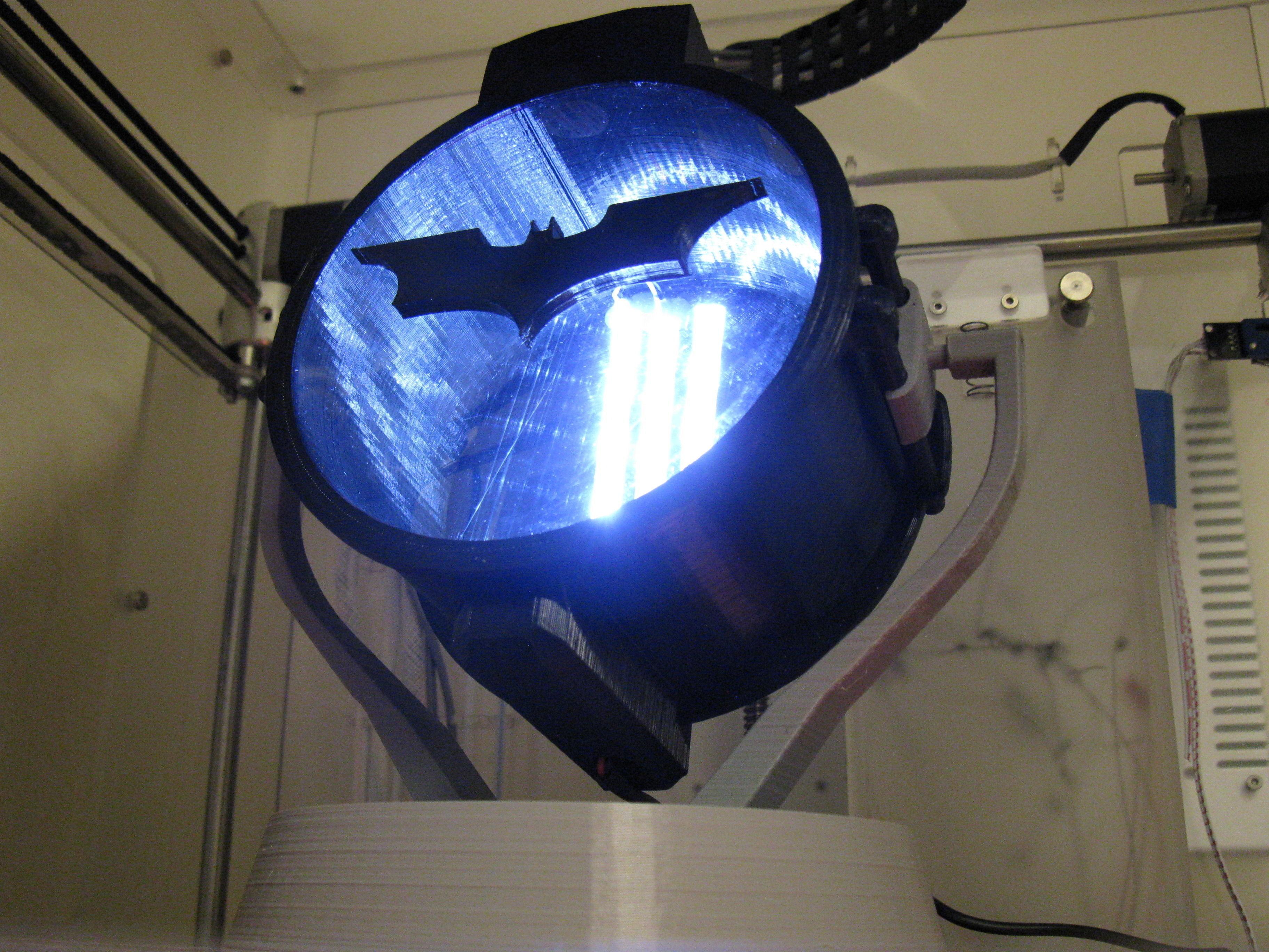 Desktop Carbon Arc Searchlight