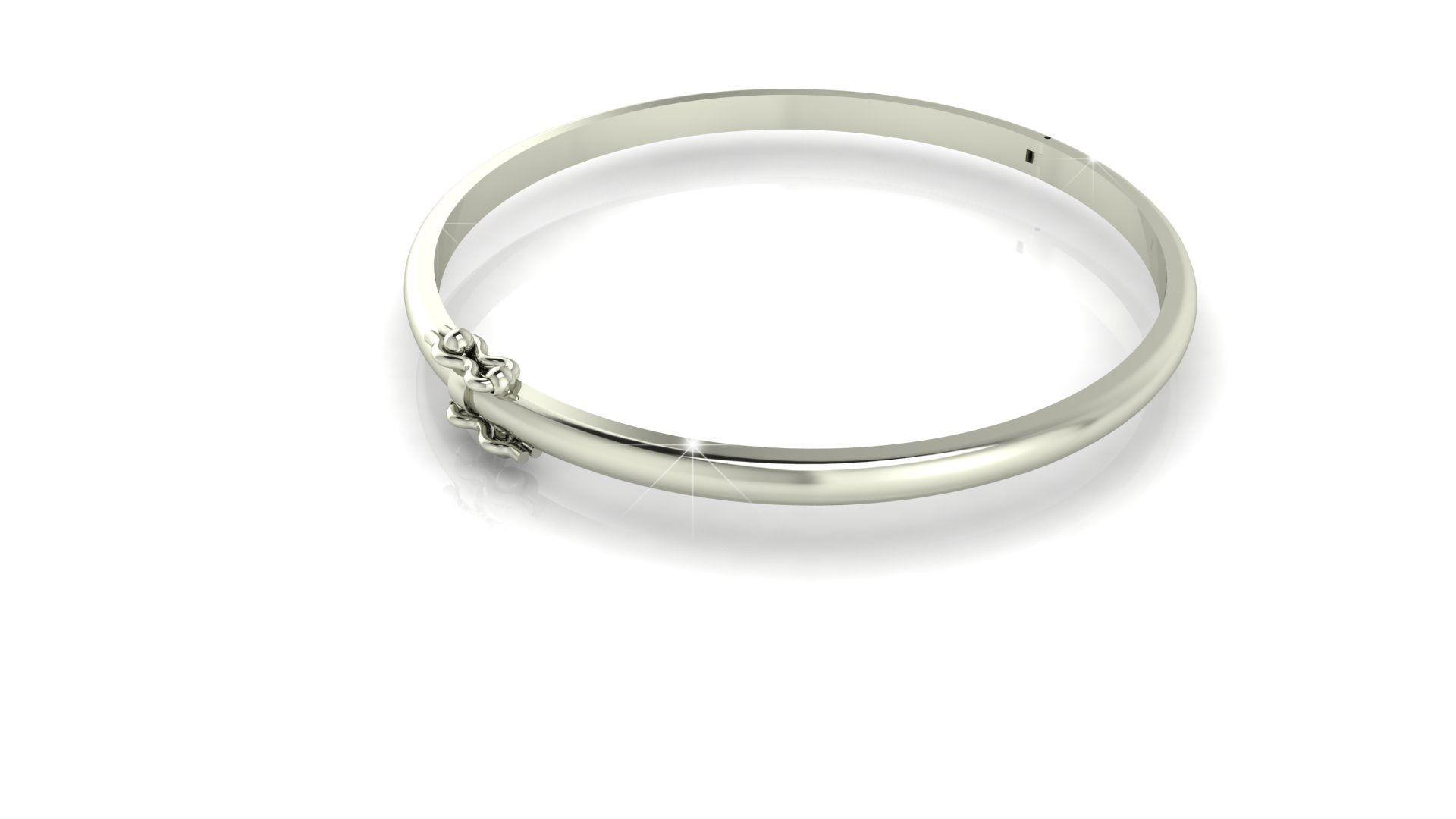 Gold Bracelet 3D printable model   CGTrader