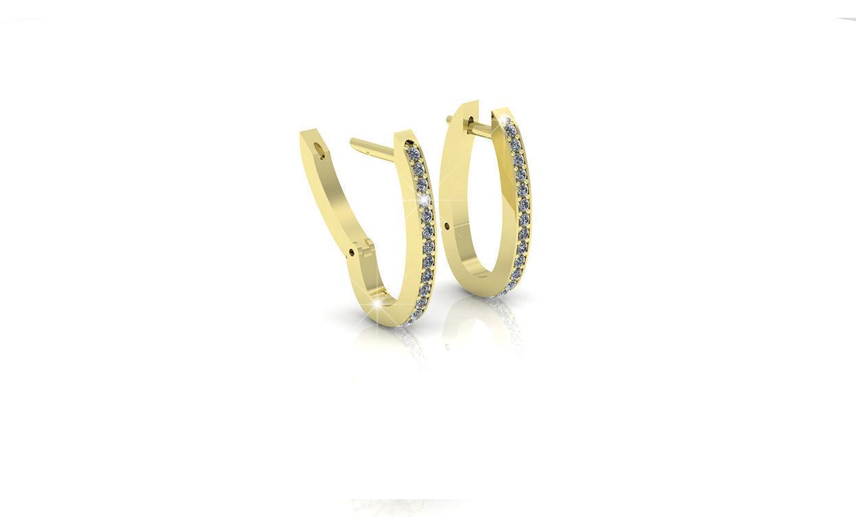 diamond earrings model - photo #13