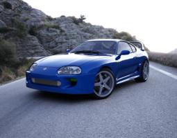 3D model Toyota Supra