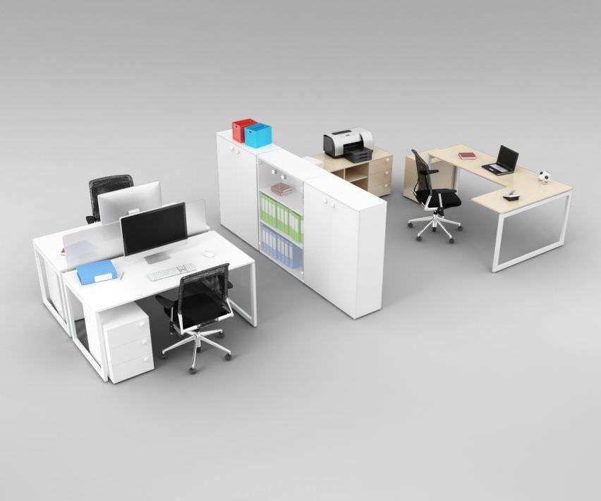 Model Office Space | 3D model