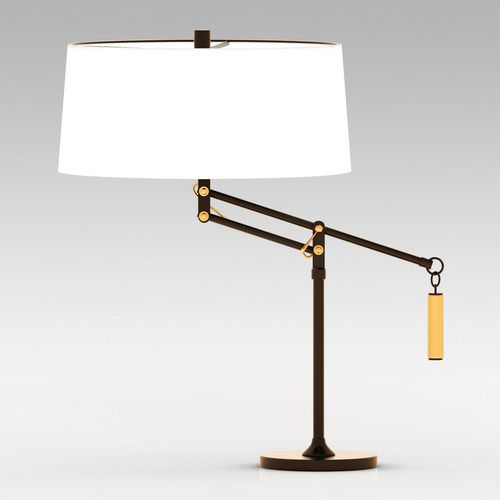 Amazing Crate And Barrel Autry Table Lamp 3D Model