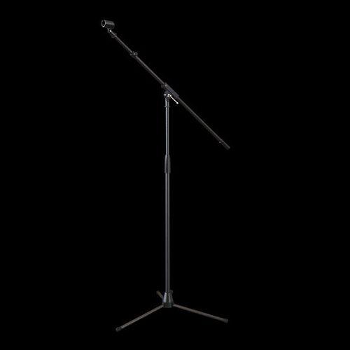 black microphone stand 3d model obj mtl 1