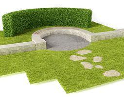 Green Garden Decoration 3D