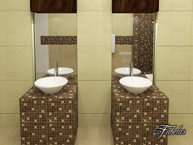 bathroom 03 3d model max obj fbx c4d Upgrade Your Bathroom & Kitchen To Increase The Property Value