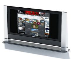 3D Silver Digital Media Screen