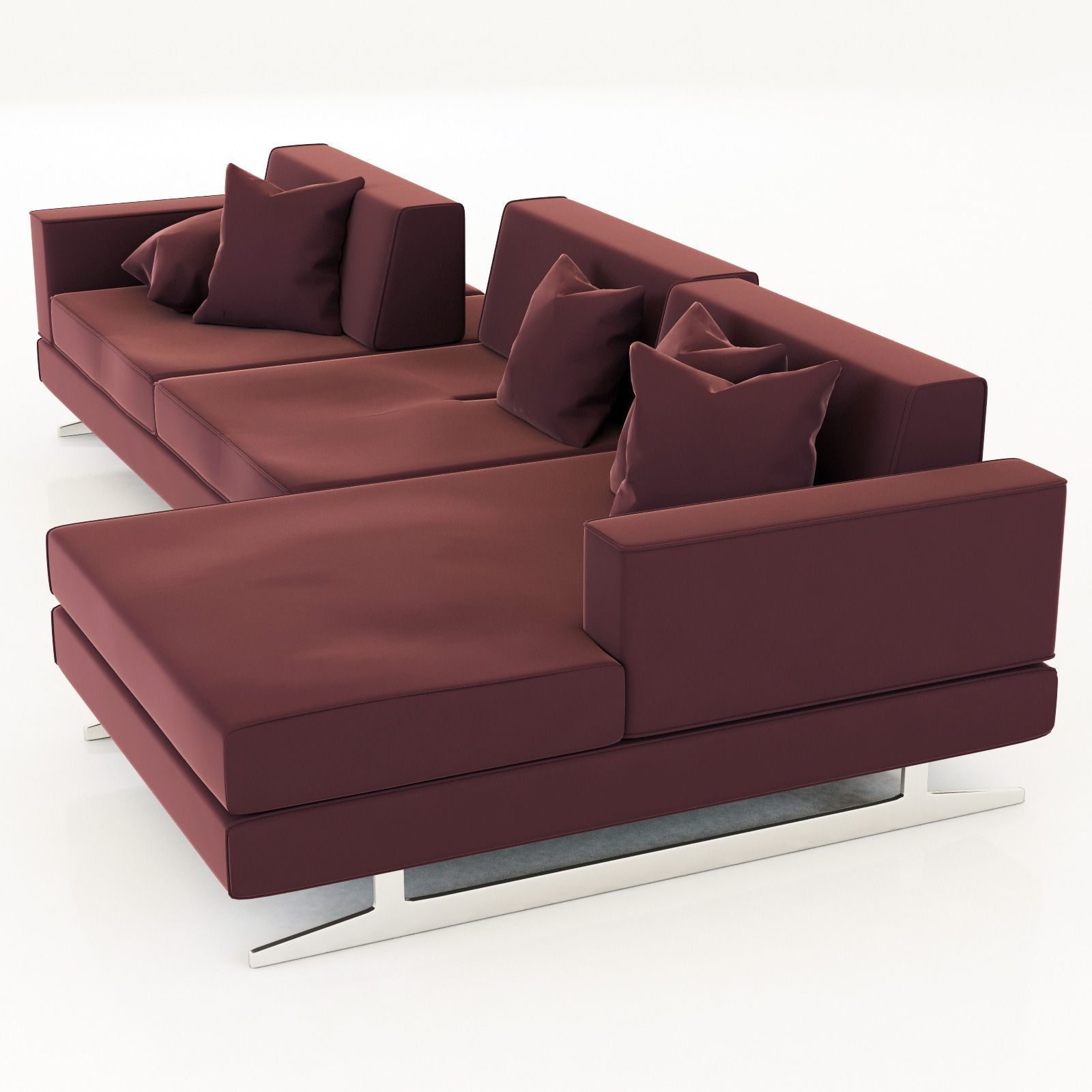 Movie sofa movie sofa cb2 thesofa for Cb2 leather sectional