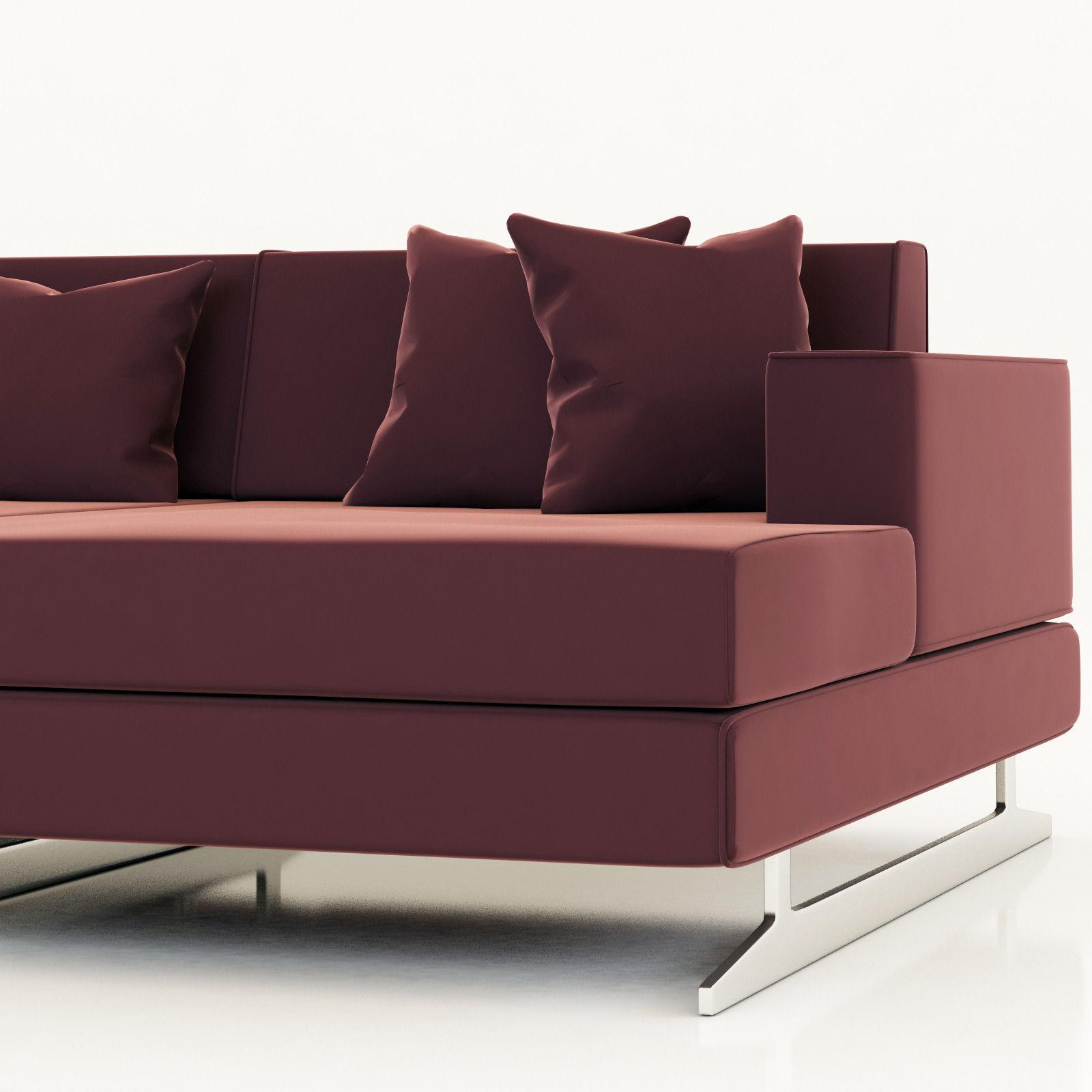 Divanidea Movie Sofa Model Max Obj Mtl S Fbx 2