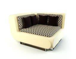 3D model Corner Couch
