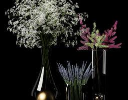 3D Dry bouquets