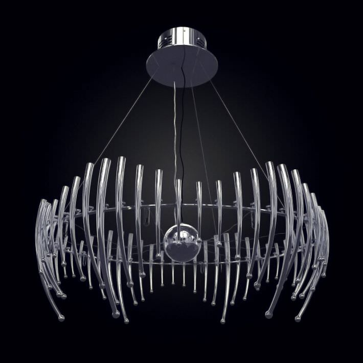 Modern Metal Suspension Chandelier