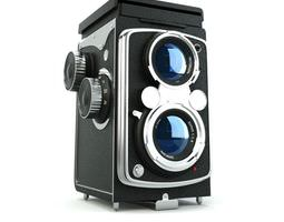 retro camera 3d model obj