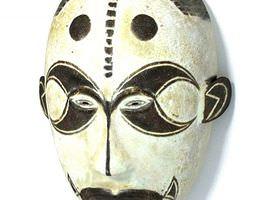 3d unique african mask