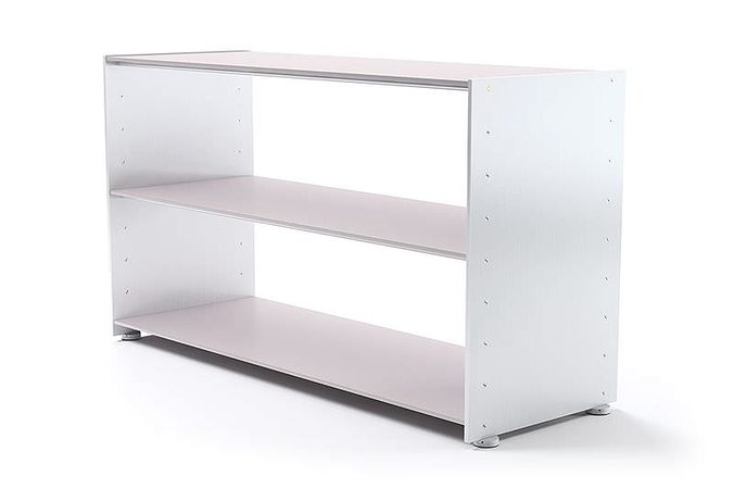 simple shelving 3d model obj mtl 1
