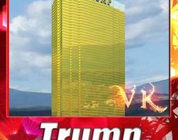 Trump International Hotel 3D model