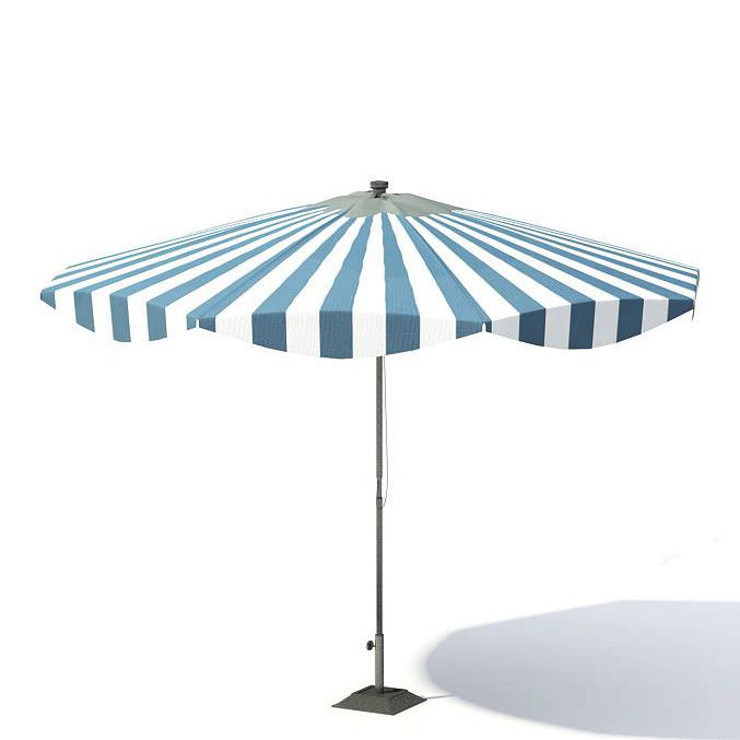 Garden Umbrella | 3D model