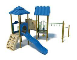 Children s Play Ground Set 3D model
