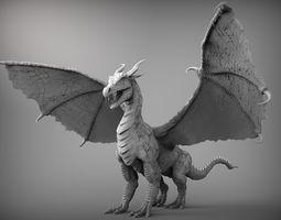 Zbrush Dragon 3D model