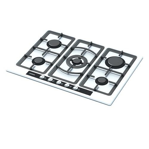 White And Black Gas Stove Top Model Max 1