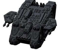 moon raider tactical tank cruciatus 3d print model