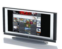 3D model Television Flat Screen