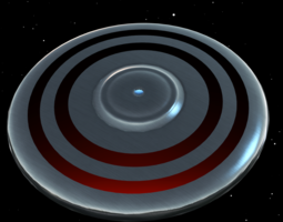 UFO III 3D Model
