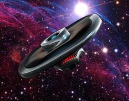 ufo ii 3d model obj 3ds