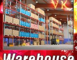 3D Warehouse and Props Mega Pack