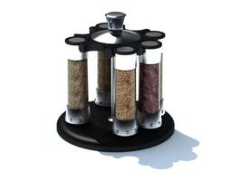 Spice Kitchen Gadget 3D model