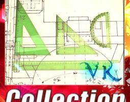 3D 4 Rulers Collection