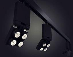 Contemporary Lighting Fixtures 3D model