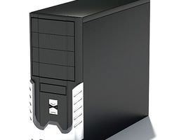 3d computer tower accessory